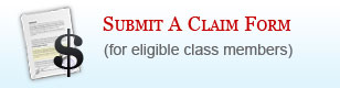 Submit a Claim Form